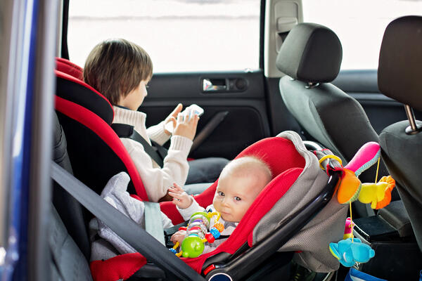 in cabin sensing infant seat detection