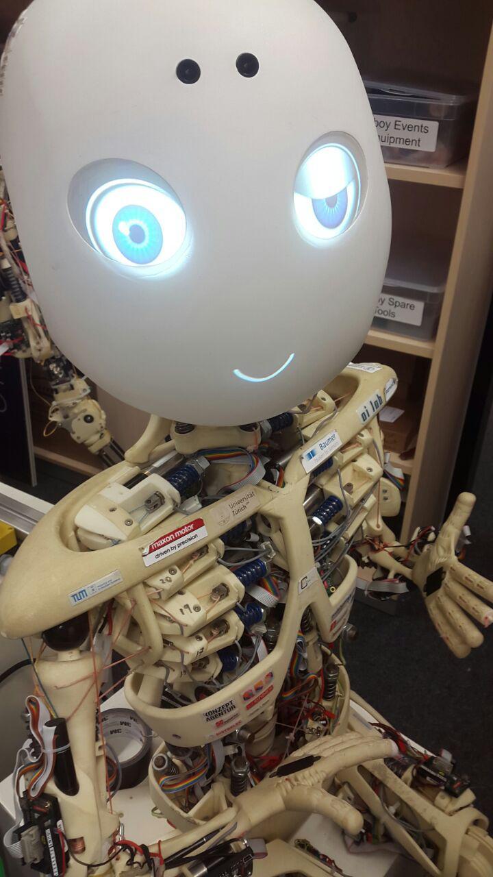 roboy emotion enabled social robot