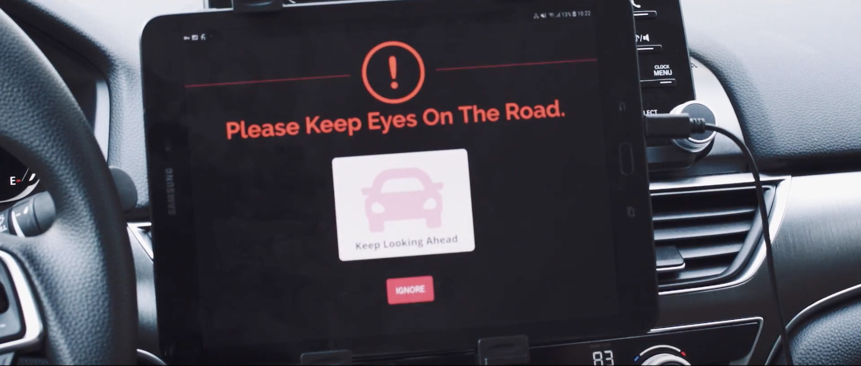 Affectiva Automotive AI for distracted driving