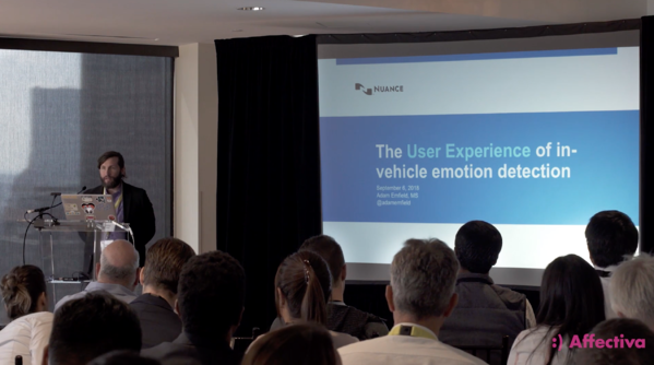 Nuance presenting at the Affectiva Emotion AI Summit 2018