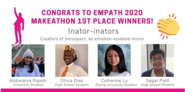 Affectiva EMPath 2020 Makeathon Winners