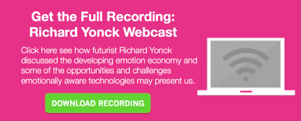 Recording: challenges and opportunities for the emotion economy