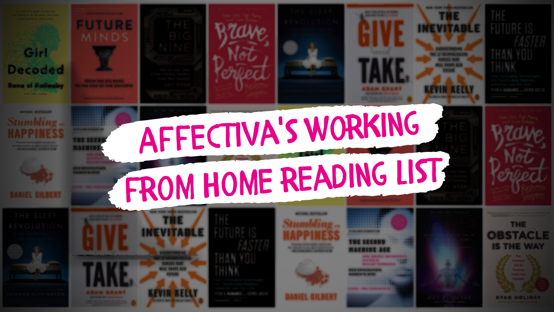 Working From Home Reading List: 12 Titles to Inspire