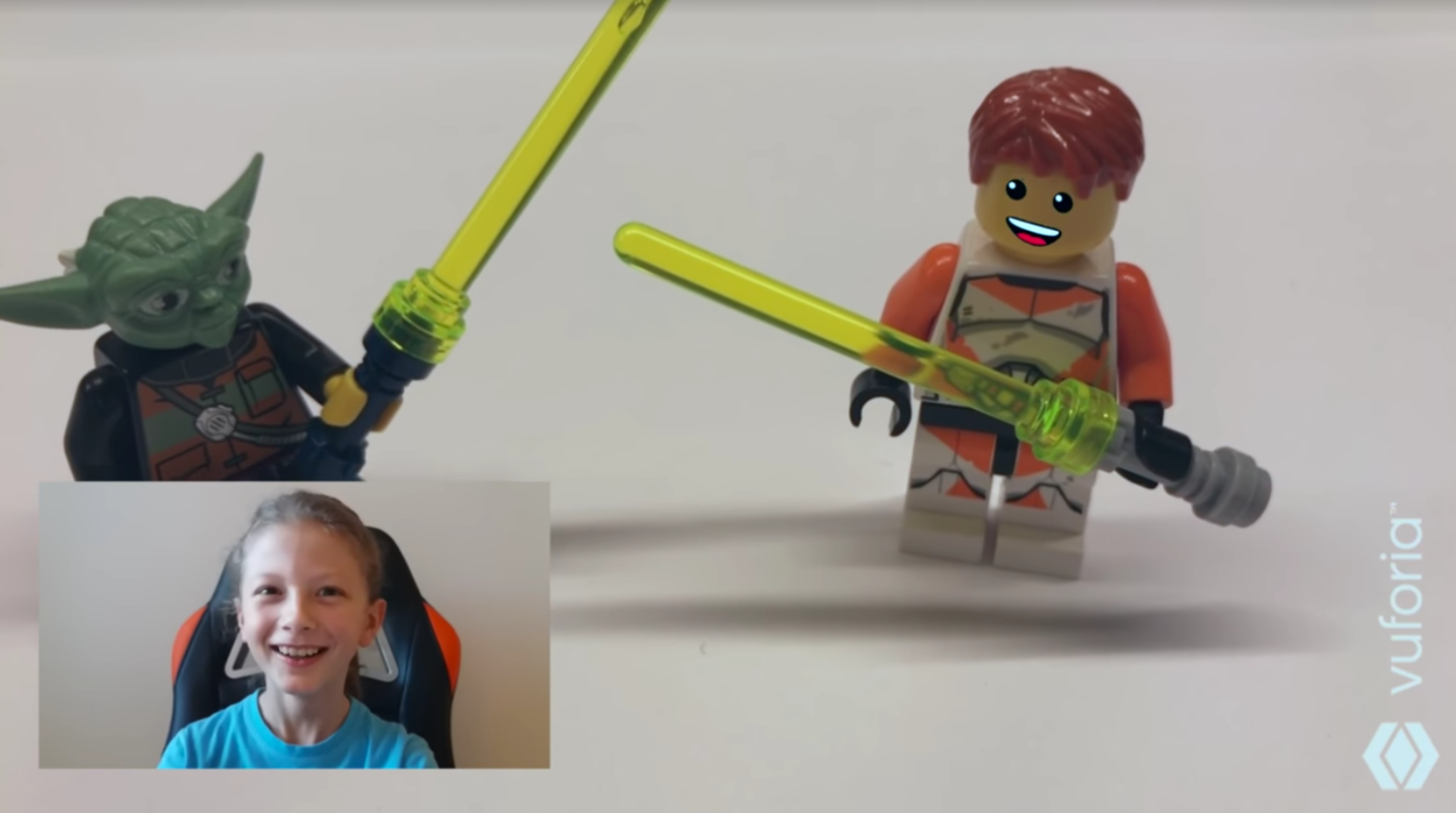 SDK on the Spot: Bringing LEGO toys to Life with Emotion in AR