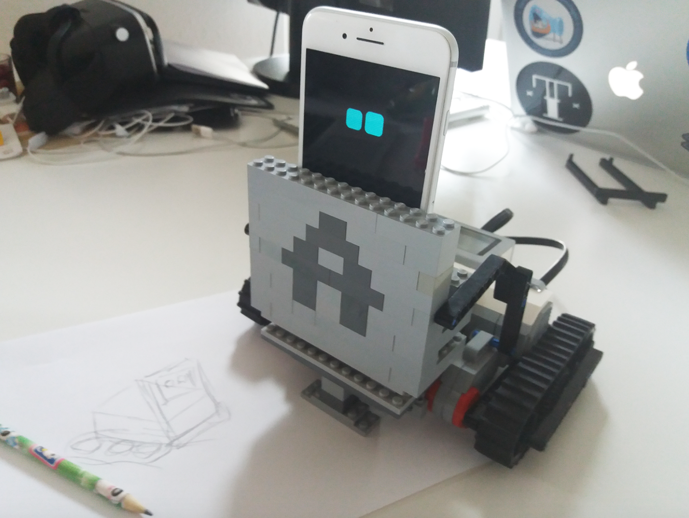 SDK on the Spot: Emotion-Aware LEGO Mindstorms Robot