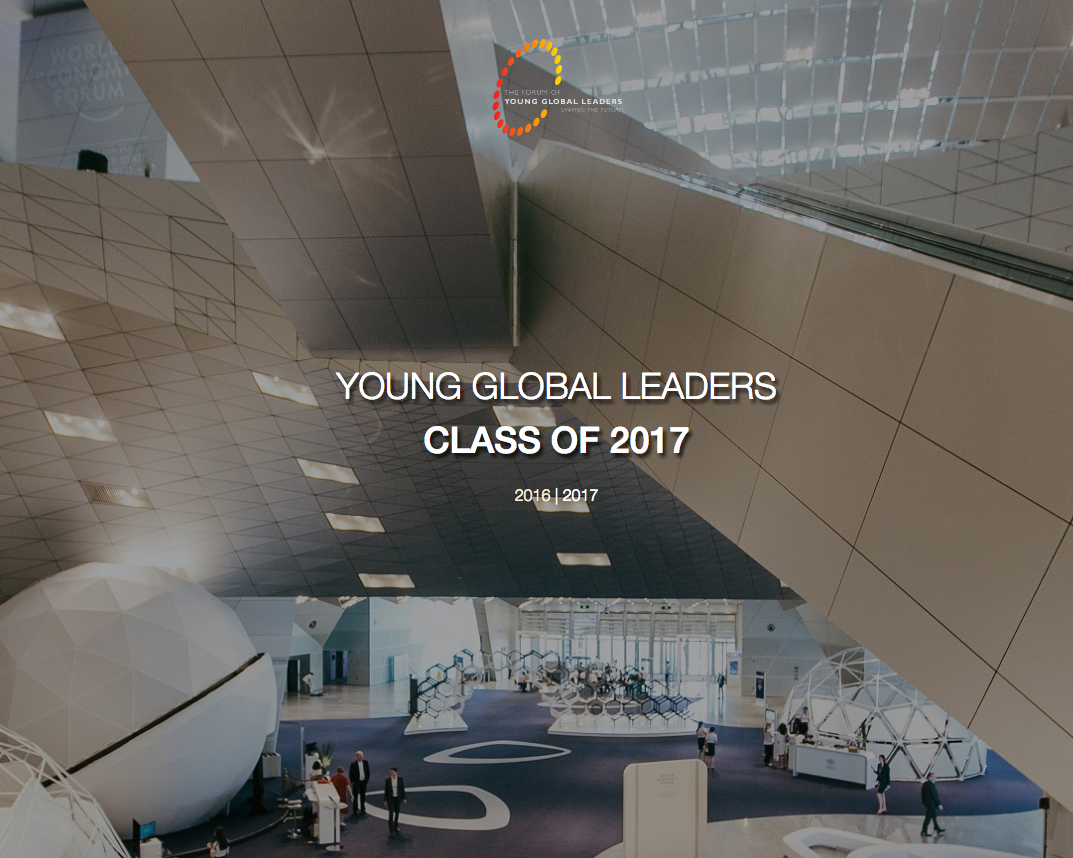 Bringing Emotion Artificial Intelligence to the World Economic Forum's Young Global Leaders Community