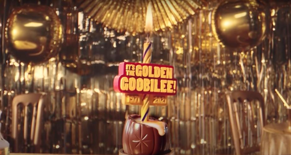 Cadbury Egg Golden Gooblie Advertisement